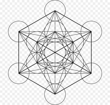 Fruit of Life Symbol and Metatron's Cube