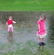 Puddle jumpers and expert huggers.