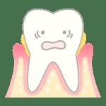 歯周病になってる歯