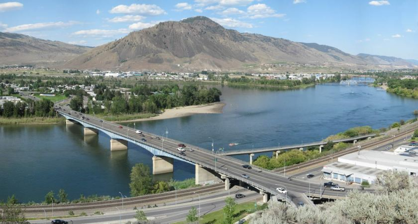 Advancing active transportation path construction in Kamloops….