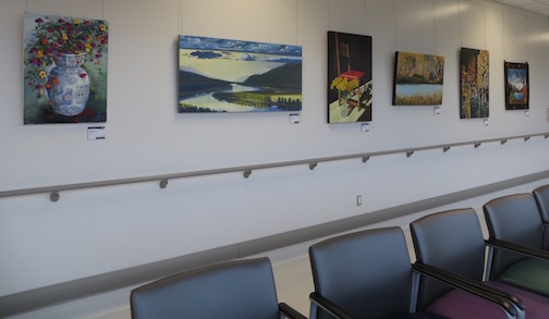 Art in Public Spaces at Royal Inland Hospital Clinical Services Building 1