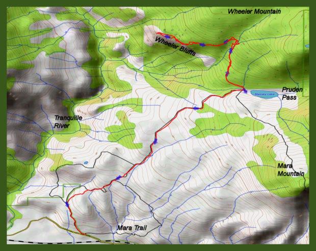 Wheeler Bluffs Ramble – Kamloops Trails
