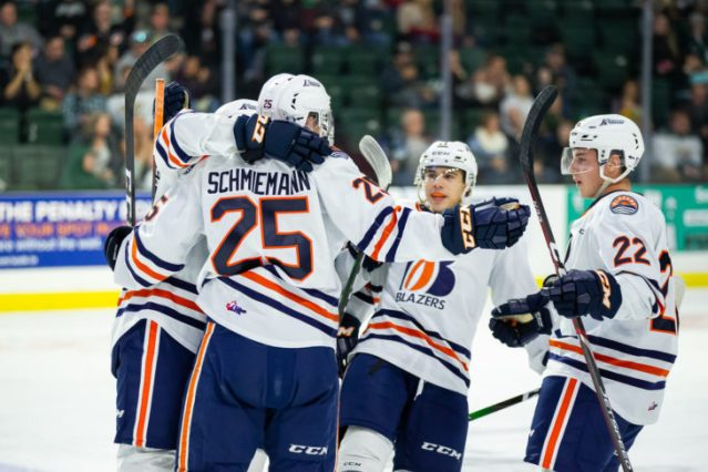 BLAZERS TALK NUMBERS, INCLUDING RETURN TO CHL TOP 10