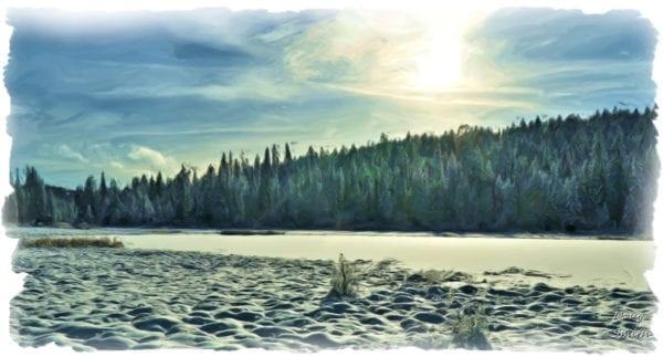 On Bush Lake - Kamloops Trails