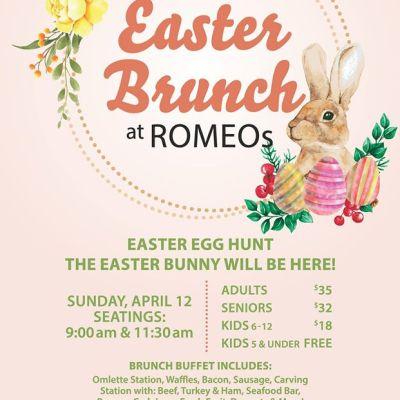 Easter Brunch at ROMEOs