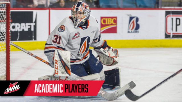 WHL announces Academic Spotlight for February – Kamloops Blazers