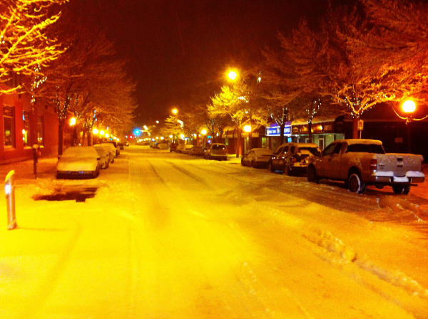 Welcome to Your Kamloops!: Snow Patience…