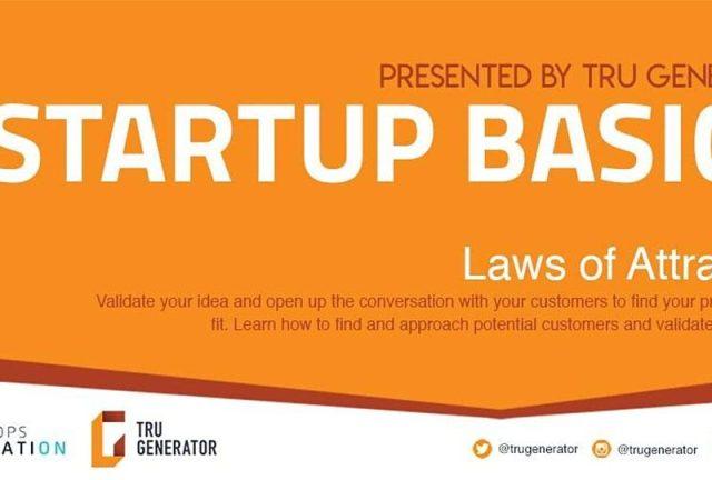 Startup Basics   Laws of Attraction – TRU Newsroom
