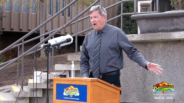 City of Kamloops - COVID-19 Press Conference April 22, 2020