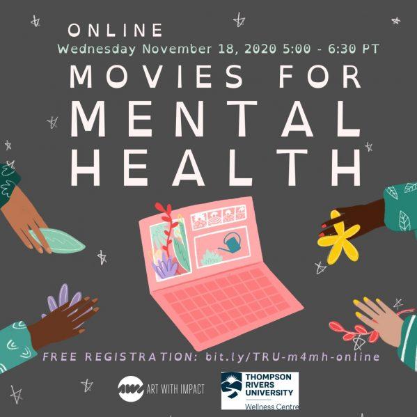 Movies for Mental Health – TRU Newsroom