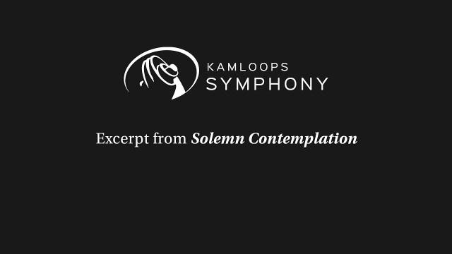 Solemn Contemplation Excerpt
