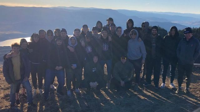 The Kamloops Storm boys hiked the mighty Dew Drop on Sunday. A little team bondi...