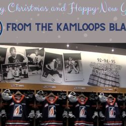 Kamloops Blazers – Happy Holidays