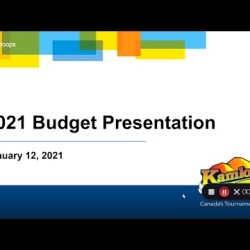 2021 Budget Presentation – City of Kamloops