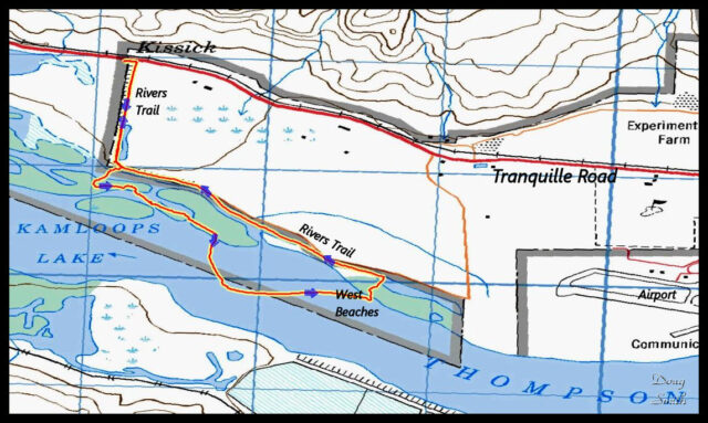 West Thompson Riverside Loop – Kamloops Trails