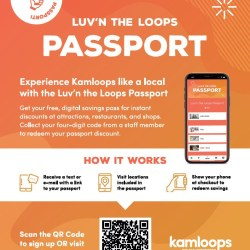 Luv'n the Loops Passport 3.0 Delivered to Your Mobile Device