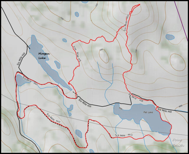 Hiking the Six Mile Hills