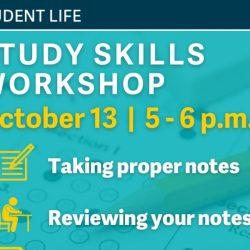 Study Skills Workshop