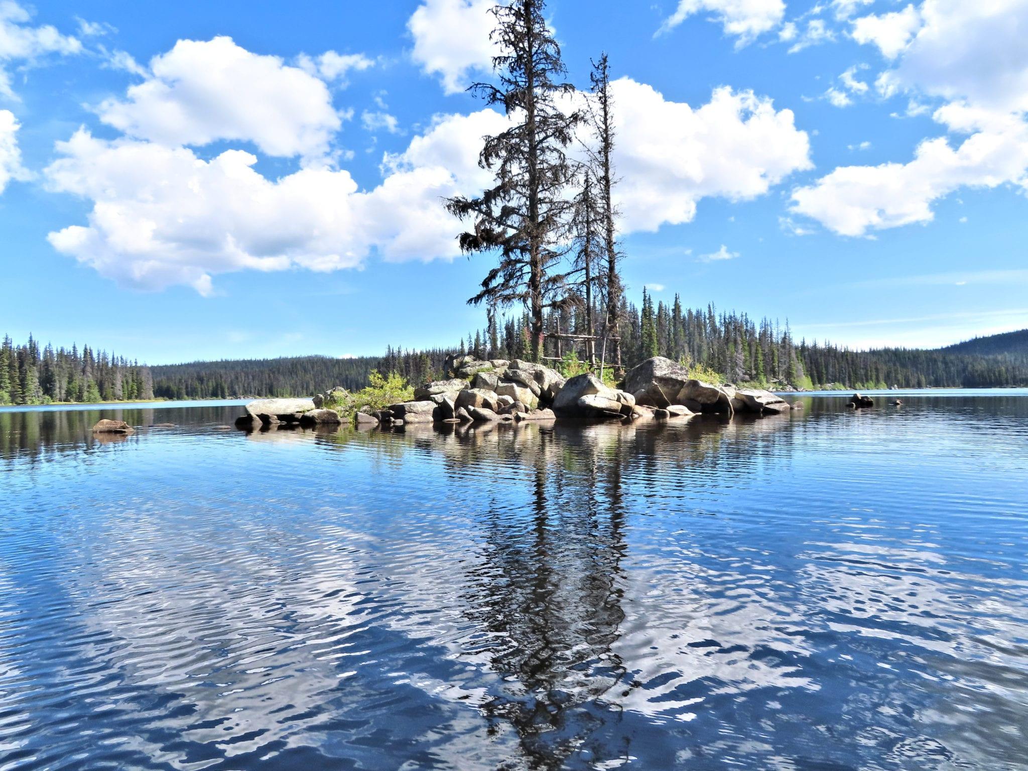 To Tsintsunko Lake - Kamloops Trails