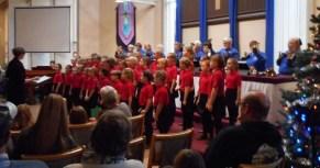 Guest choir, Kamloops Thompson Valley Children's Choir