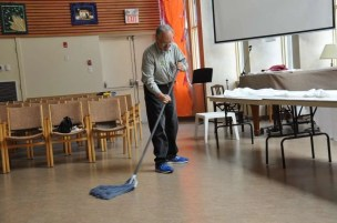 And when all is said and done, Alan sweeps up after us.