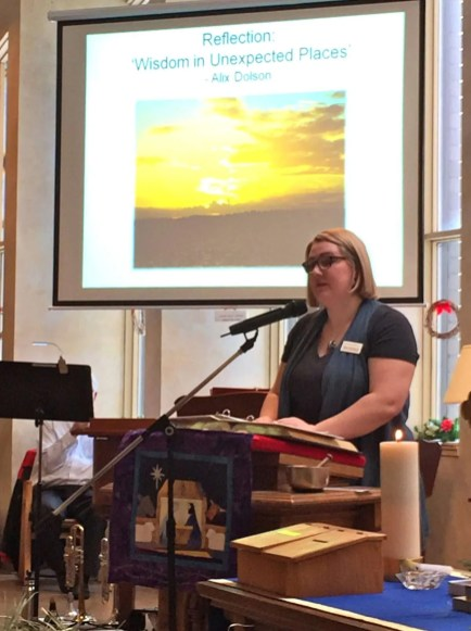 Sunday after Christmas. Dec. 27, 2015. Worship with Alix Dolson.