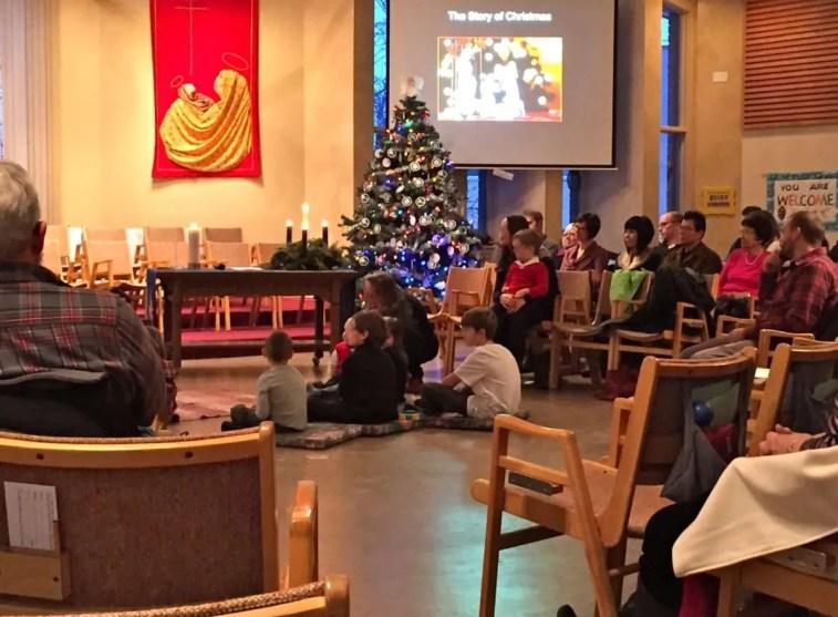 Christmas Eve, Family Service
