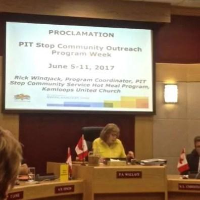 PitStop Proclamation