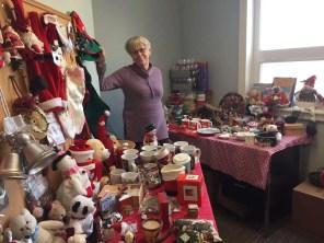 Sharon set up a fabulous Christmas Shop