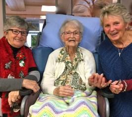 Heather, Irene and Linda