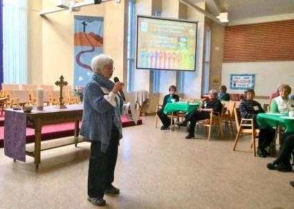 Rev. Dawne Taylor welcomes participants.