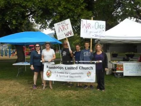 Some of the KUC people who walked/pledged.