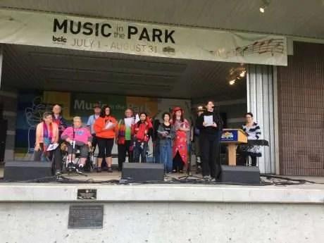 Pride Choir with Rachel Casponi