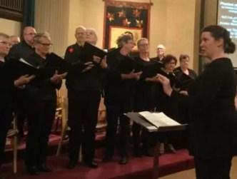 Phantom of the Opera Medley. KUC Choir directed by Rachel Casponi.
