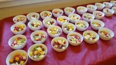 Fruit Salad & Cookies