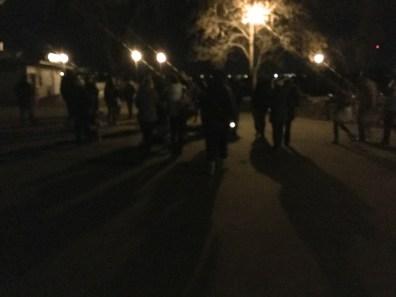 Walking from Riverside Park to KUC