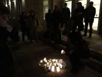 Vigil at KUC