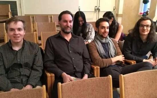 Levi, David, Jaris and Zac