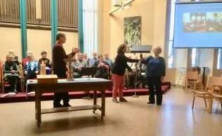 Passing on the Music Stand