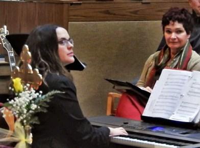 Pride Choir accompanist, Sabrina