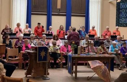 Harmony in Hand handbell choir