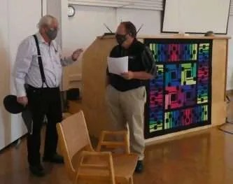 Sound Techs: Dale and Ron Mc