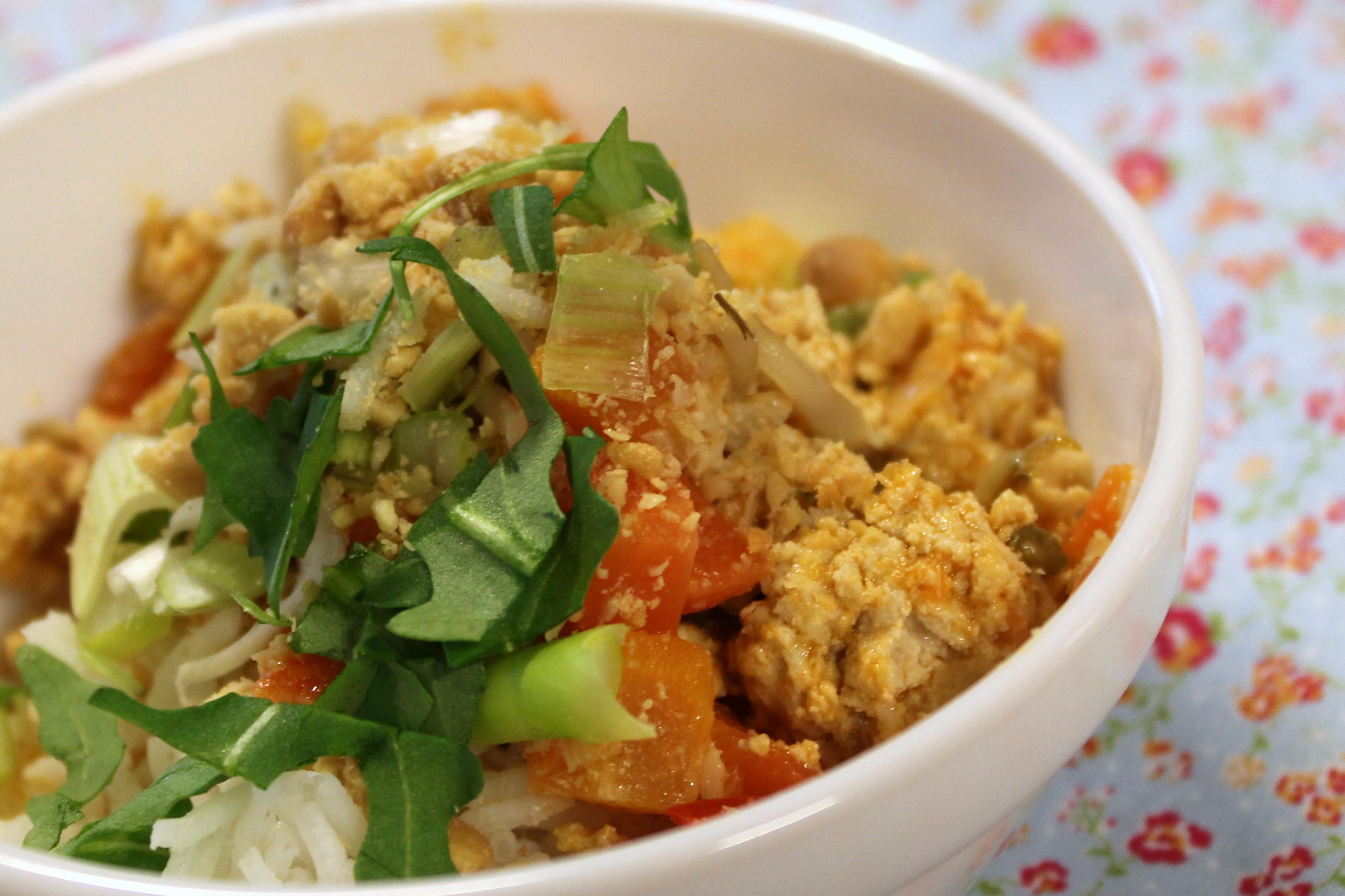 Thai bolognese …….med ris