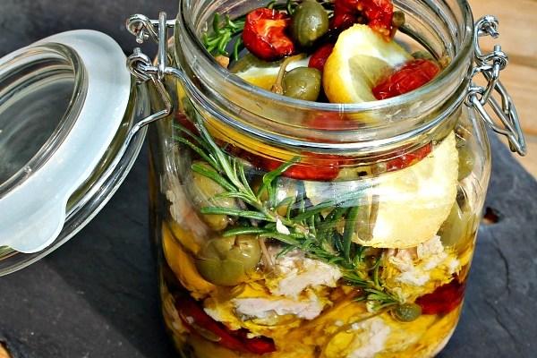 Marineret tun – til en pastasalat, eller nykogt pasta