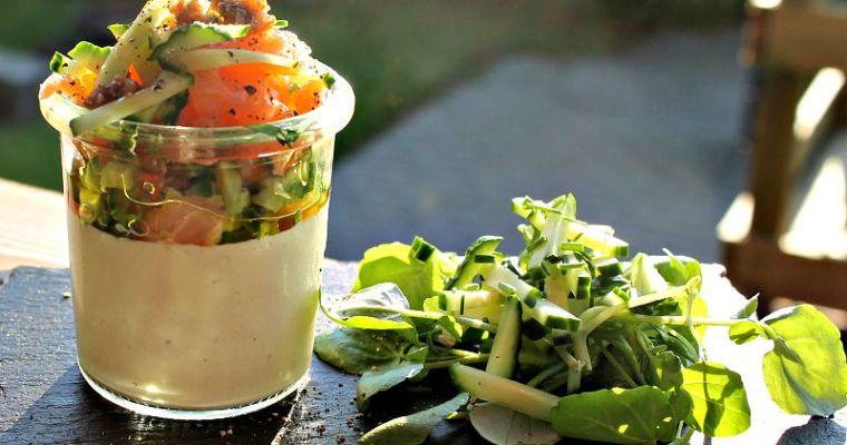 Blomkålspuré  – fra babymad til en lækker forret