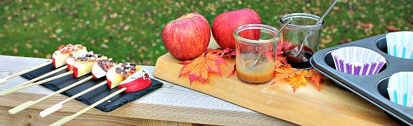 Karamel æble bar – efterår i vuggestuen