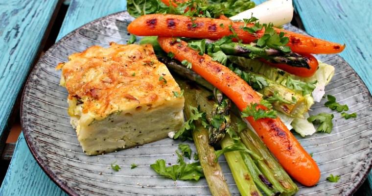 Pasta, squash. ricotta snitter – gode til madpakken