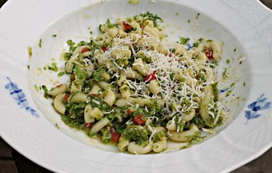 Pasta med broccoli – pasta di broccoli