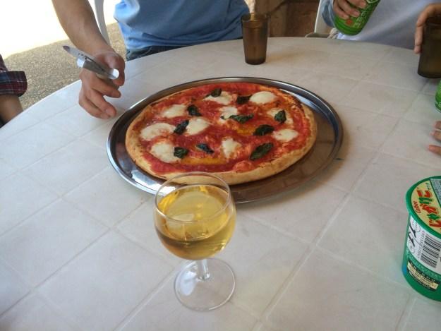 イタリア ワイン ロゼ スパークリング ピザ
