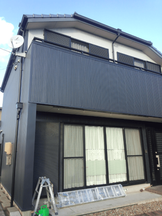 M様邸リフォーム工事(外壁、樋)(愛知県l江南市)